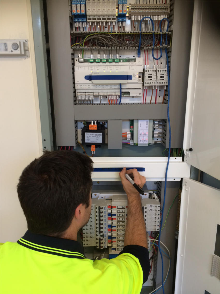 One Of 70+ Electrical Switchboards Manufactured For Education Victoria